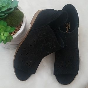 Final $ Leather Booties